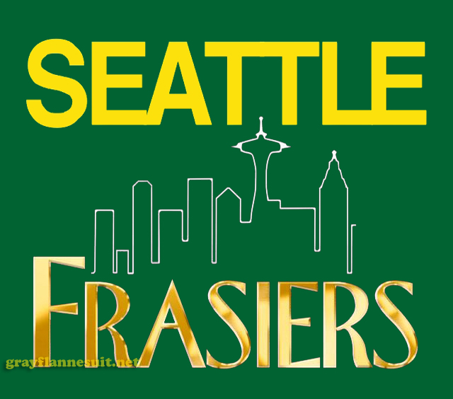 Seattle Frasiers (SuperSonics) NBA logo