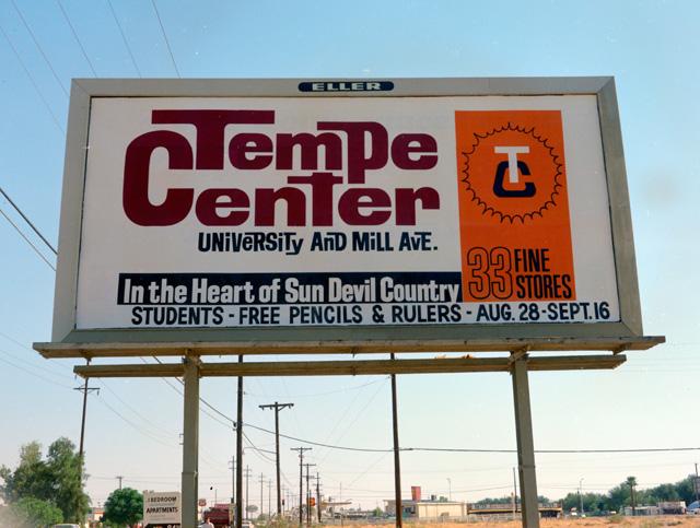 Tempe Center (Arizona) billboard ad