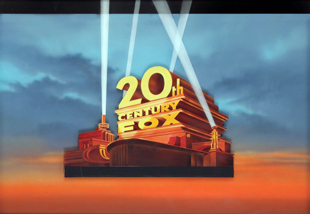 20th Century Fox (c. 1960s) movie title camera art