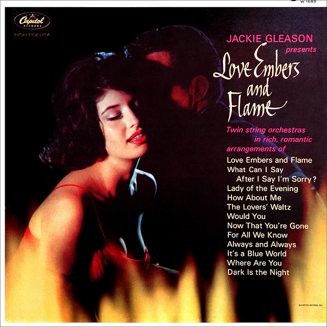 Jackie Gleason - Love Embers and Flame (1962) album cover