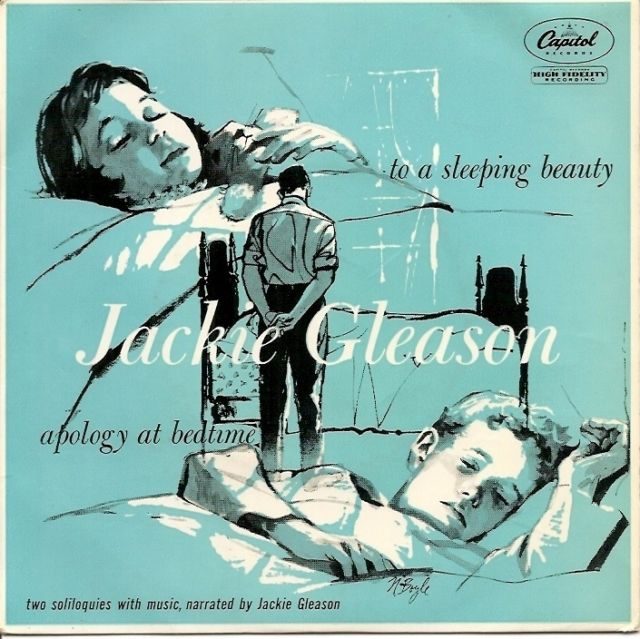 Jackie Gleason - To a Sleeping Beauty / Apology at Bedtime (1956) album cover