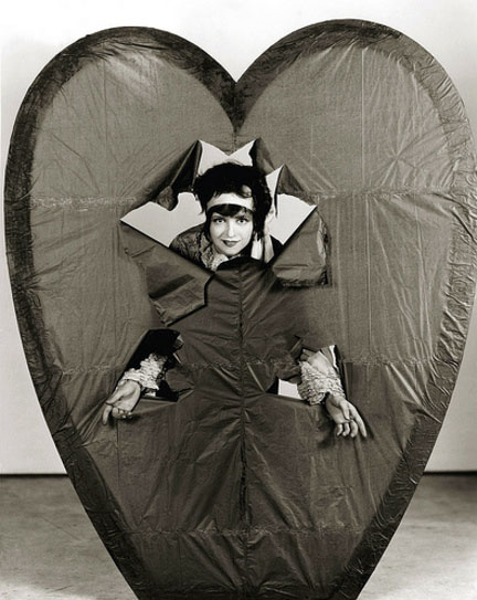 Vintage Valentine's Day Pin-Up - Clara Bow