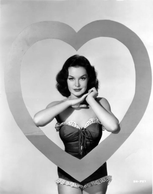 Vintage Valentine's Day Pin-Up - Dorothy Hart