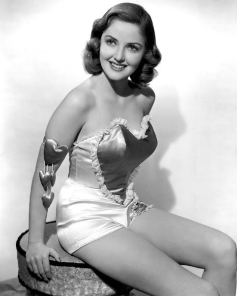 Vintage Valentine's Day Pin-Up - Martha Vickers