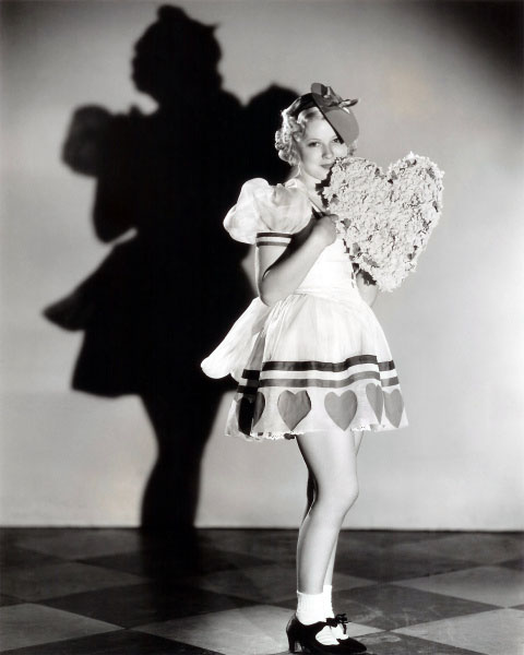 Vintage Valentine's Day Pin-Up - Mary Carlisle