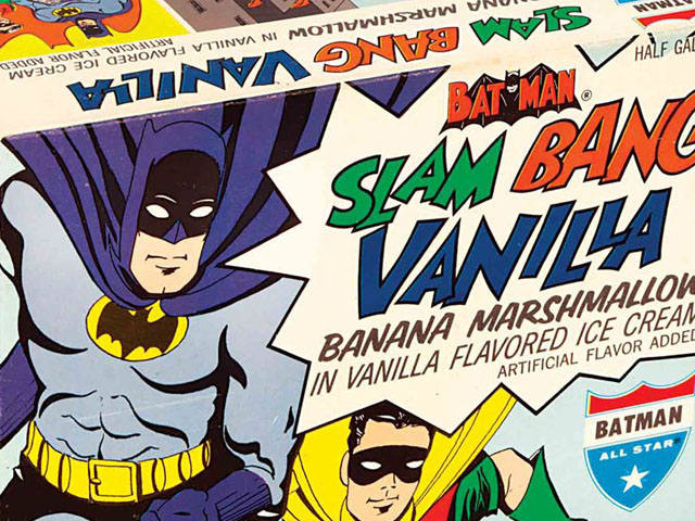 Holy Slam Bang Vanilla Ice Cream, Batman!
