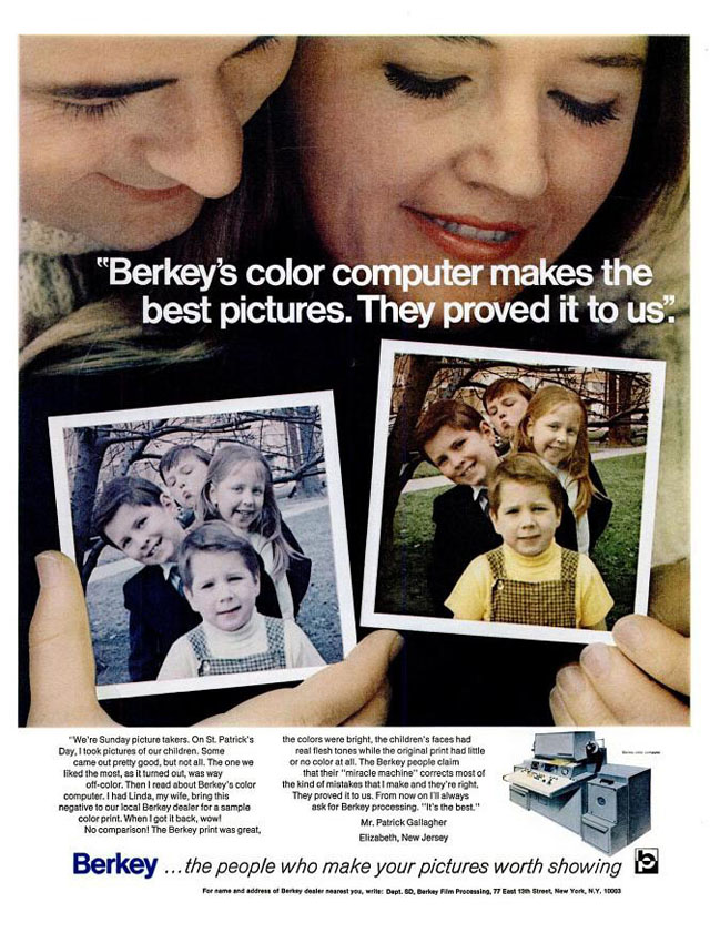 Berkey (1970) vintage St. Patrick's Day ad