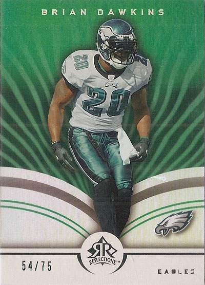 Brian Dawkins 2005 Upper Deck football card