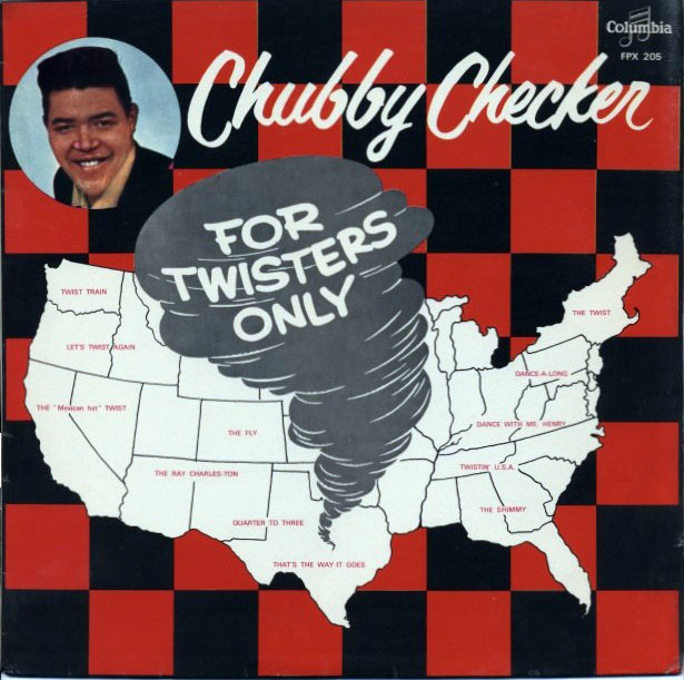 Chubby Checker - For Twisters Only (1962) album cover