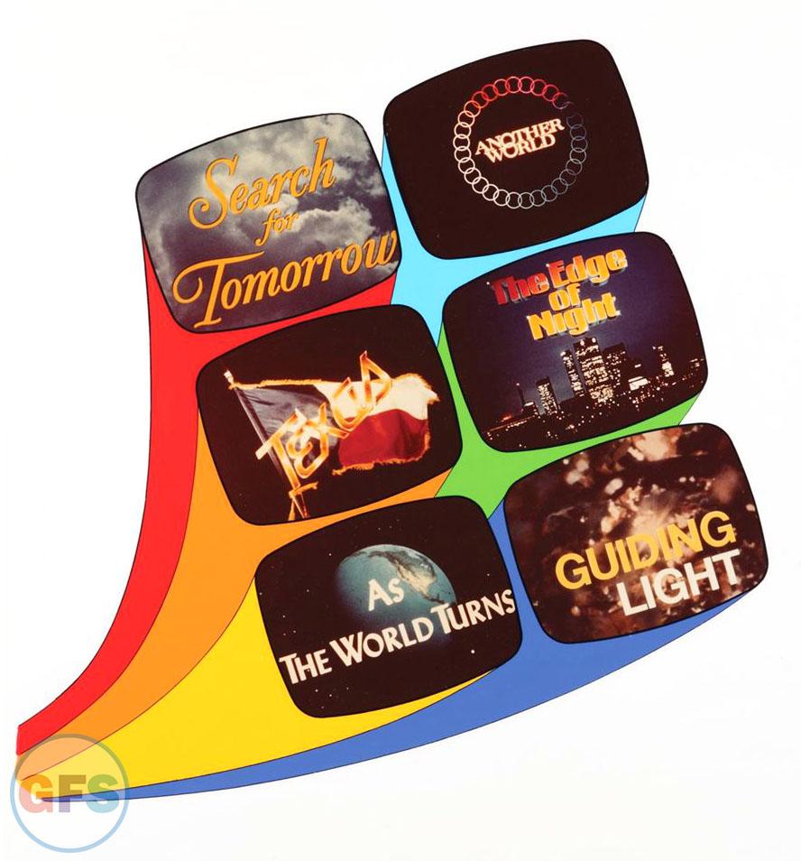 Procter & Gamble Daytime Soap Opera Promo Artwork (1981)