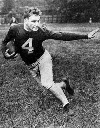 "Alphonse ""Tuffy"" Leemans (#4, New York Giants)"