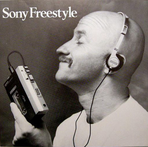 Sony Freestyle ad - 1980