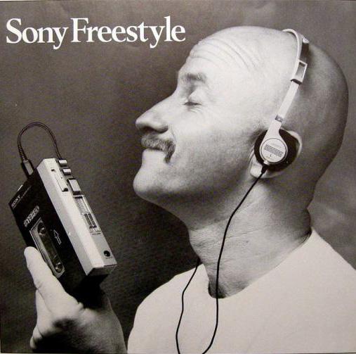 Sony Freestyle ad - 1980