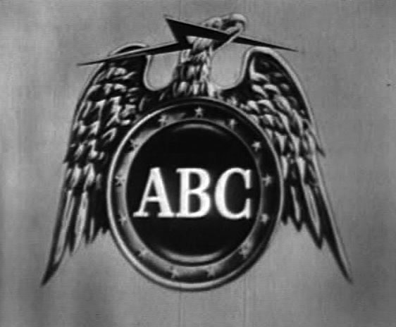 ABC logo (1953-57): eagle with lightning bolt