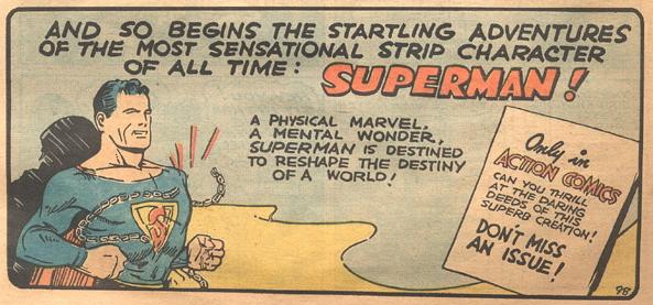 Superman, 1938