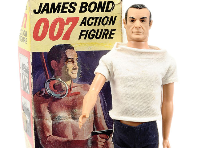 Vintage Toys: James Bond 007 Thunderball Action Figure