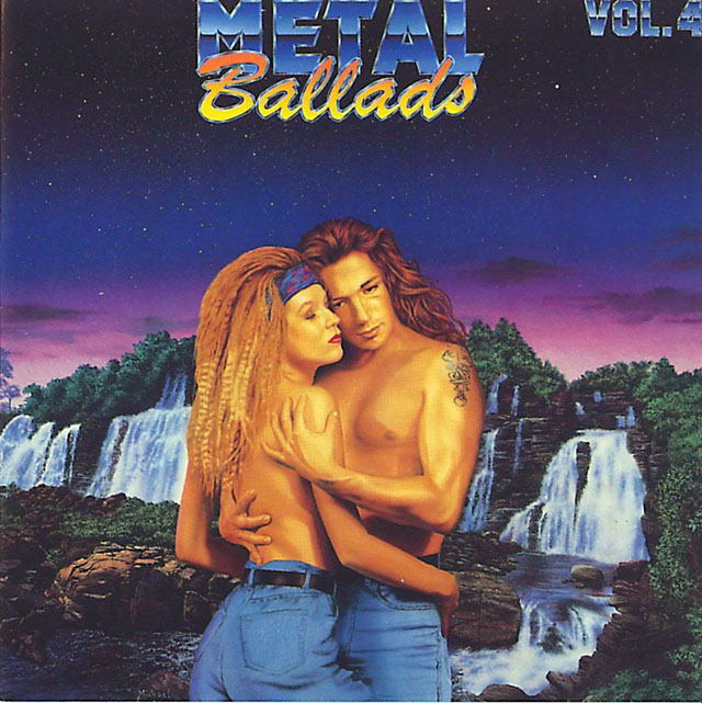 Metal Ballads, Vol. 4 (1991) album cover art