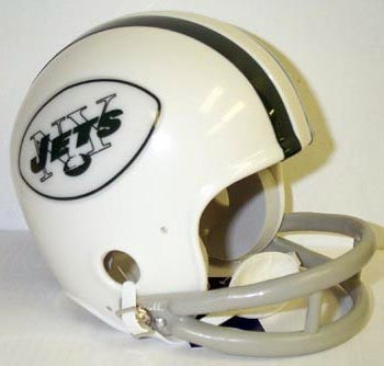 New York Jets helmet, 1964