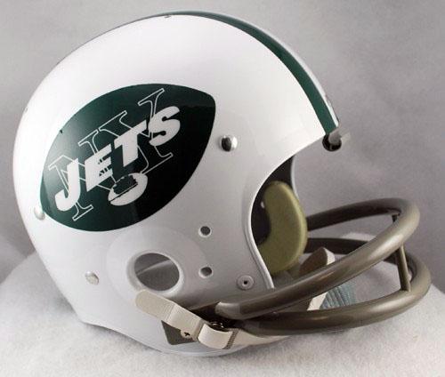 New York Jets helmet, 1965