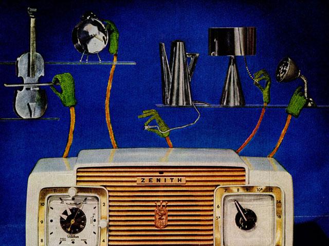1953 Zenith radio ad
