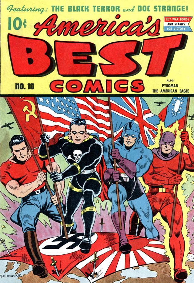 America's Best Comics #10, July 1944