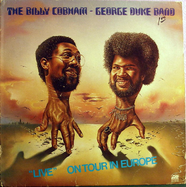 "The Billy Cobham/George Duke Band, ""Live"" On Tour in Europe album cover"