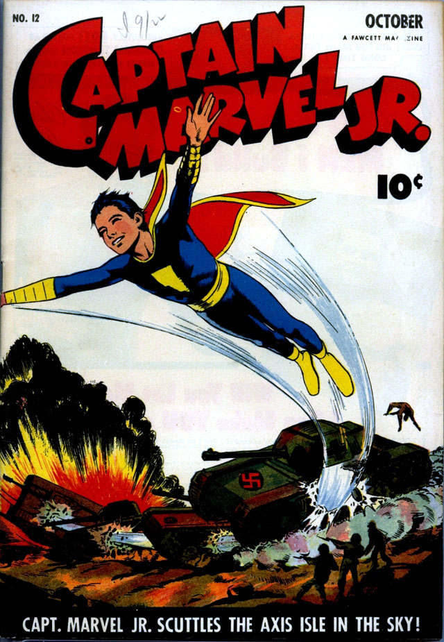 Captain Marvel Jr. #12, October 1943