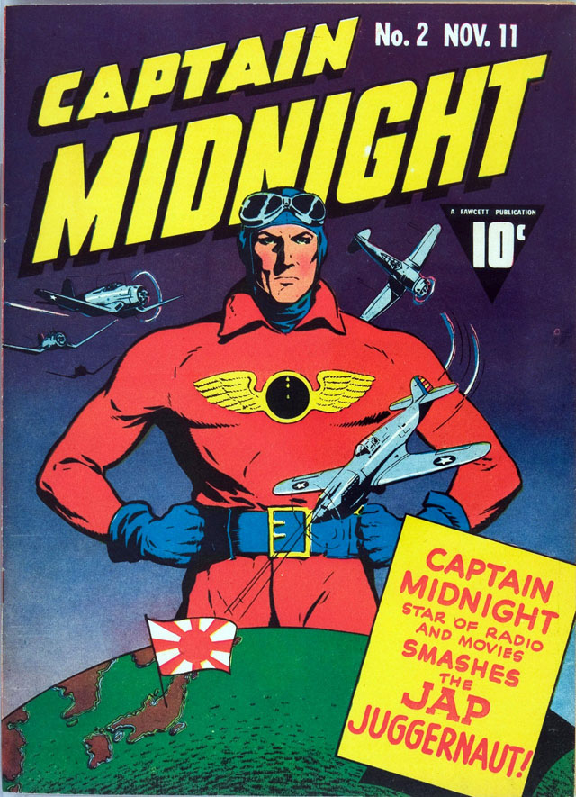 Captain Midnight #2, November 1942