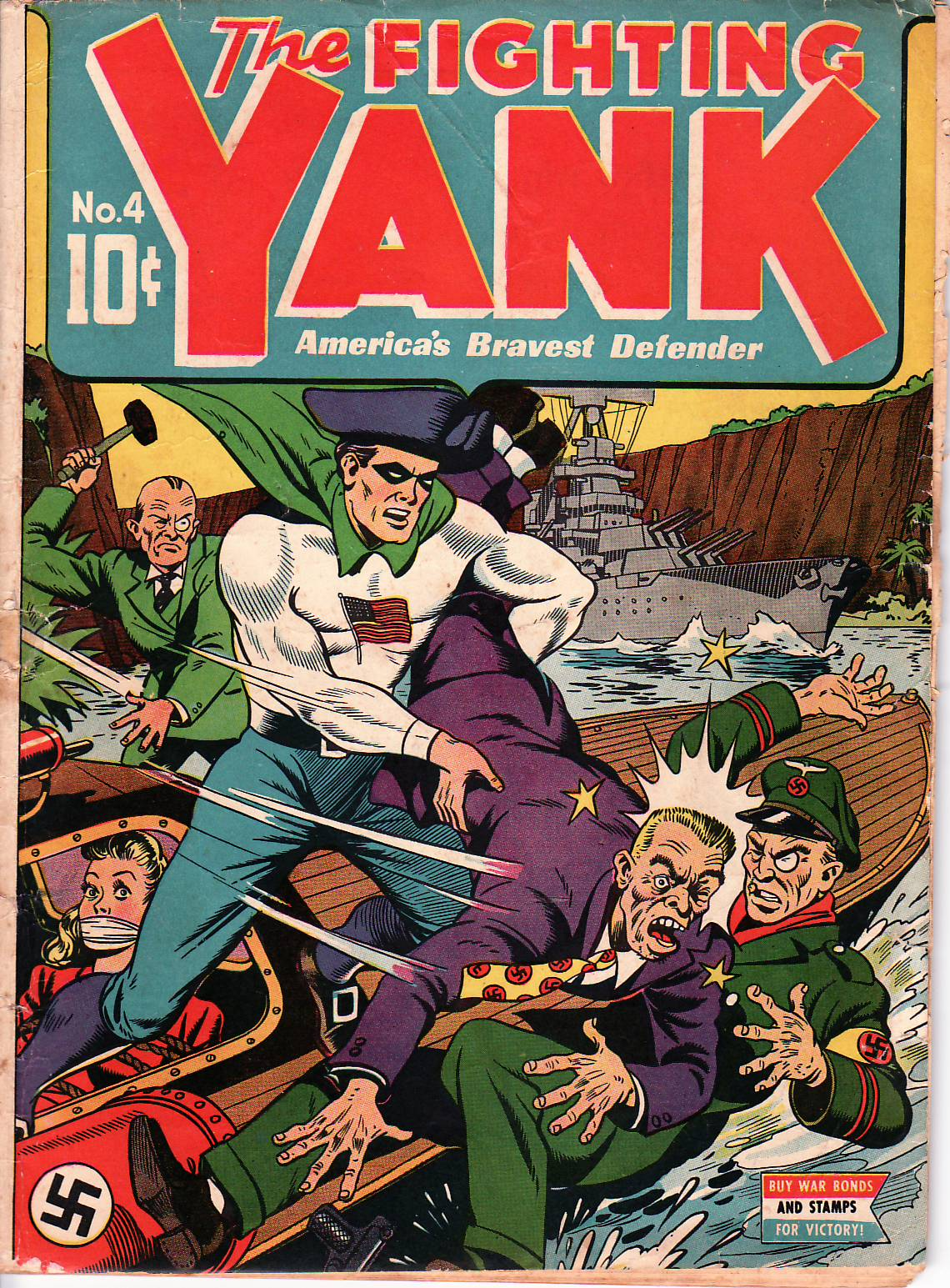 Fighting Yank #4, June 1943