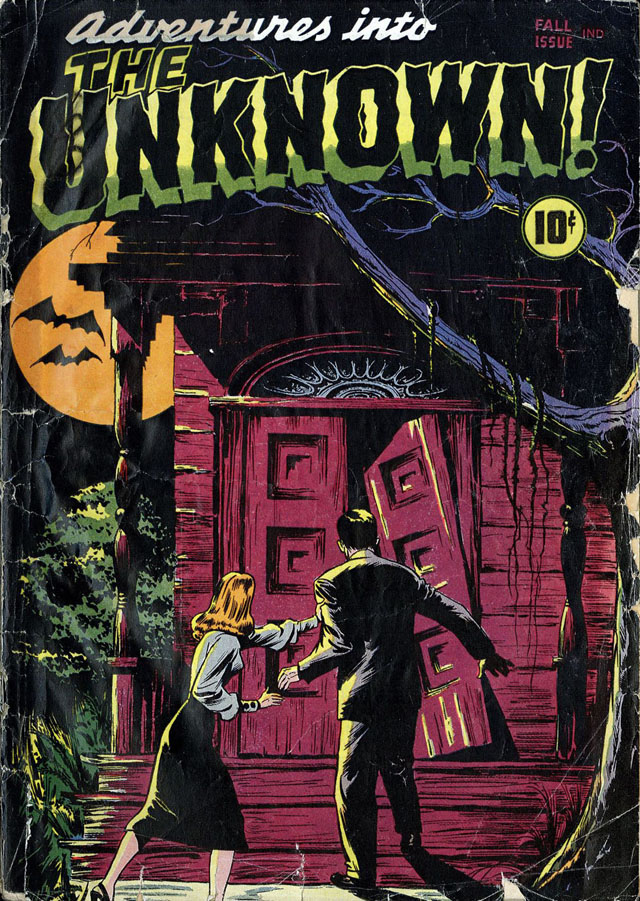 Adventures Into the Unknown #1 - Fall 1948