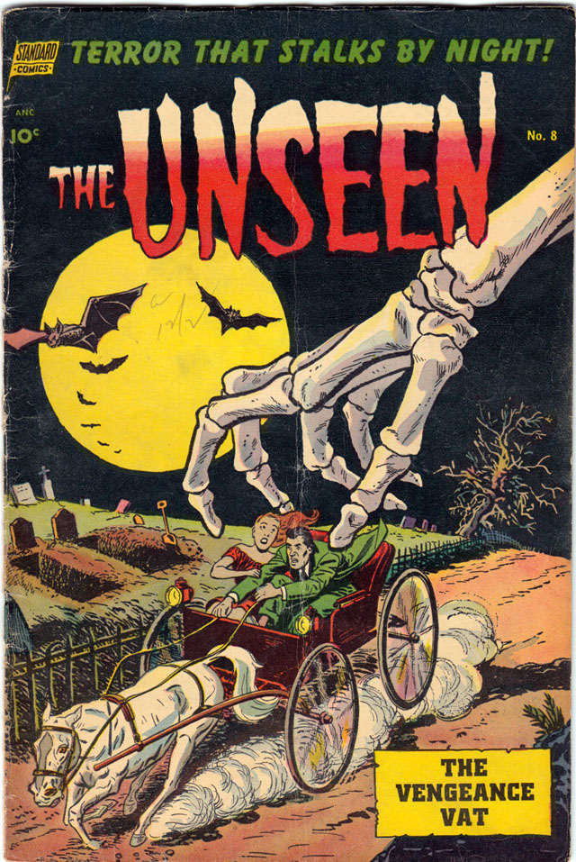 The Unseen #8 - January 1953