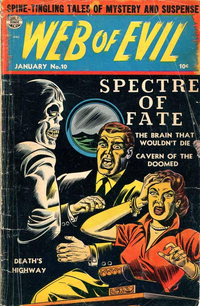 Web of Evil #10 - January 1954