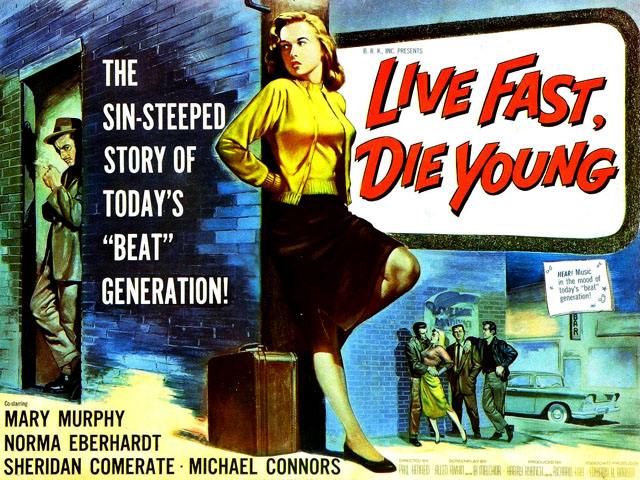 Live Fast, Die Young movie poster
