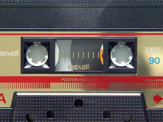 A Gallery of Vintage Blank Audio Cassette Tapes