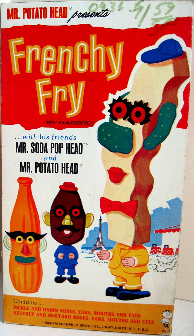 Frenchy Fry w/Mr. Soda Pop Head