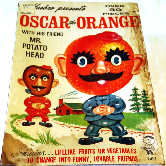 Oscar the Orange