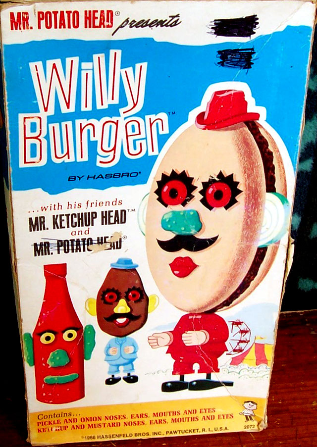 Willy Burger w/Mr. Ketchup Head