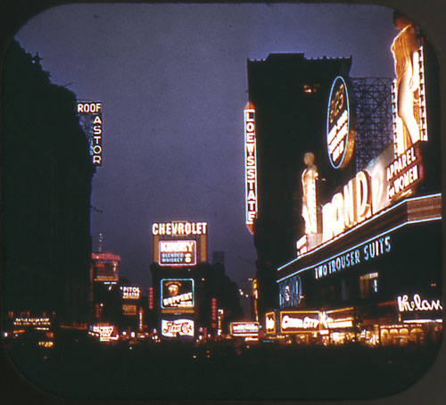 Times Square, c. 1952 (View-Master)