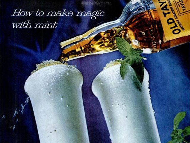 A Trio of Vintage Liquor Ads for Kentucky Derby Day
