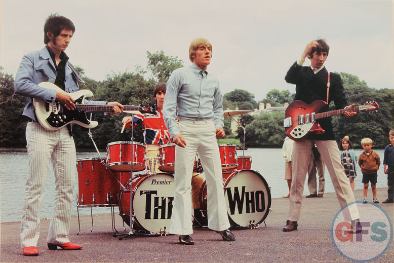 The Who, circa mid-1960s