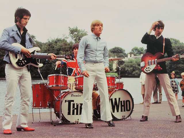 Here's a Neat Photo of The Who, Circa Mid-'60s