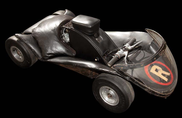 1960s Batman Batcycle sidecar/go-cart