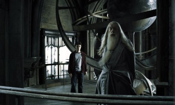 Half-Blood Prince - Harry and Dumbledore