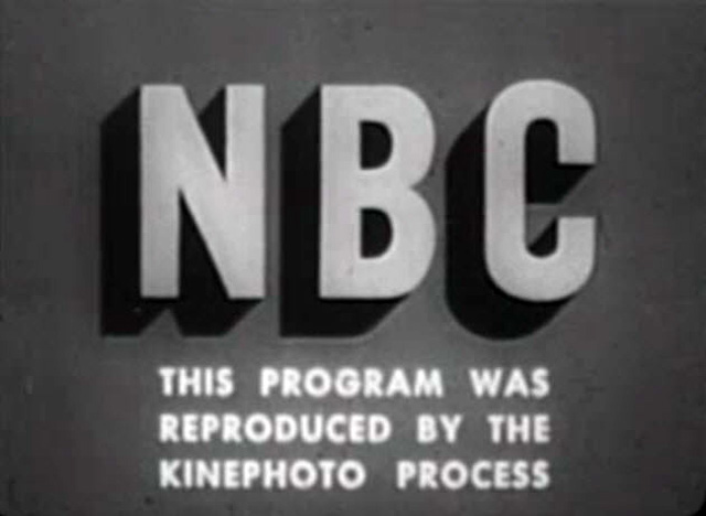 NBC Block Letter Logo (Early 1950s)