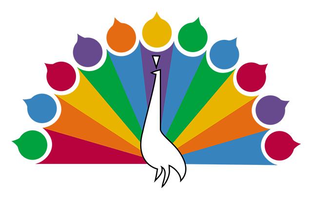NBC Original Peacock Logo (1956 - 1960)