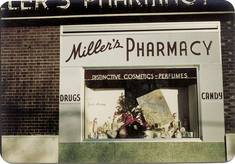 Kodachrome Photos of New York City Storefronts, 1949-1952