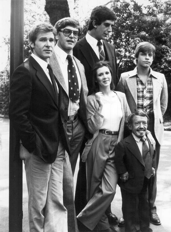 Star Wars cast 1978
