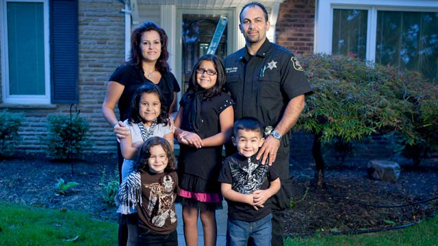The Jaafar family from TLC's reality show, All-American Muslim