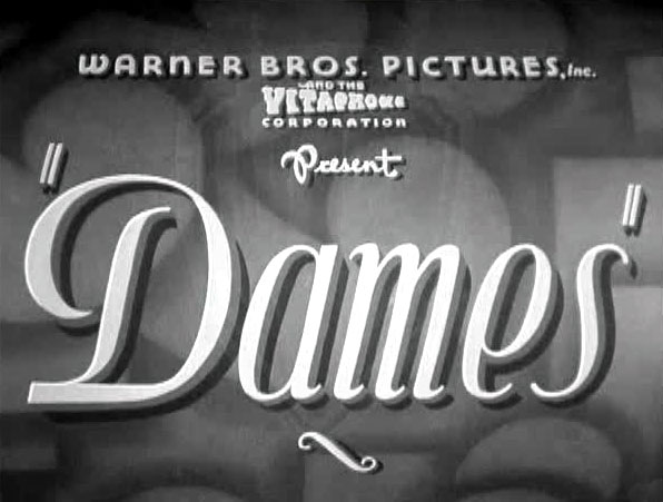 Dames (1934) title card
