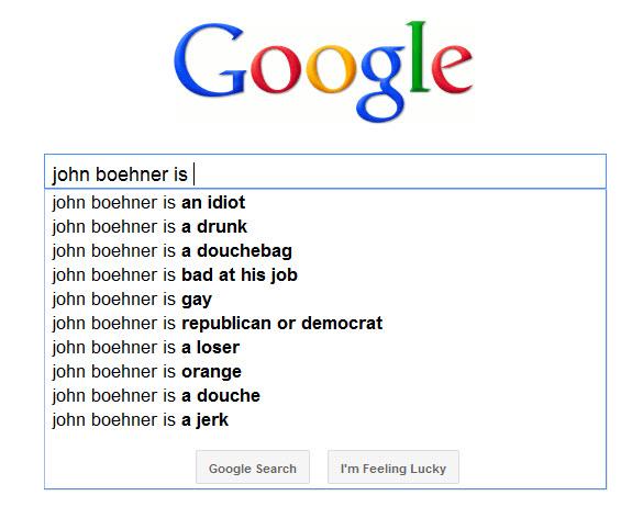 John Boehner is...